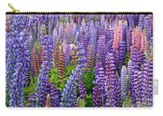 Lupins At Lake Tekapo Carry-all Pouch