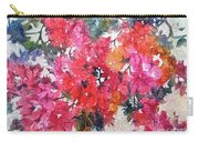 Luscious Bougainvillea Carry-all Pouch by Michelle Abrams