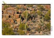 Lush Arizona Desert Landscape Carry-all Pouch