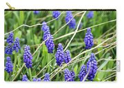 Lush Grape Hyacinth Carry-all Pouch
