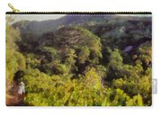 Lush Greenery While Trekking Carry-all Pouch