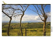 Lush Land Leafless Trees I Carry-all Pouch