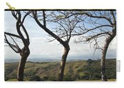 Lush Land Leafless Trees Iv Carry-all Pouch