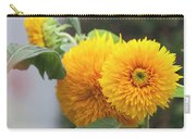 Lush Sunflowers Carry-all Pouch