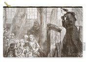 Luther Preaching In The Old Wooden Church At Wittemberg Carry-all Pouch