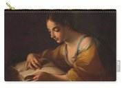 Luti, Benedetto Attributed To Saint Catherine Second Half Of The Xvii - Primer Cuarto Del Siglo Xv Carry-all Pouch