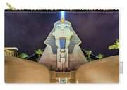 Luxor Casino Egyptian Sphinx Las Vegas Night Carry-all Pouch