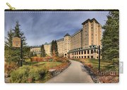 Luxurious Chateau Lake Louise Carry-all Pouch