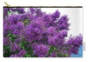 Luxurious Lilacs Carry-all Pouch