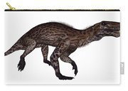 Lycaenops Dinosaur Walking, White Carry-all Pouch