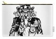 Lyndon Johnson: Cartoon Carry-all Pouch