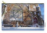 Lynn Central Congregational Church Lynn Ma Winter Carry-all Pouch