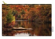 Lynn Woods Birch Pond Fall Colors Carry-all Pouch
