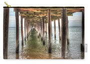 Lynnhaven Fishing Pier, Pillars To The Sea Carry-all Pouch