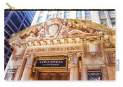 Lyric Opera Of Chicago Carry-all Pouch