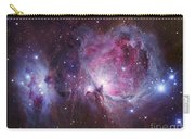 M42, The Orion Nebula Top, And Ngc Carry-all Pouch by Robert Gendler