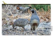 Ma And Pa Quail Carry-all Pouch