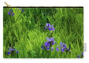 Ma At Irises Carry-all Pouch
