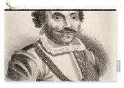 Maarten Harpertszoon Tromp 1598 - 1653 Carry-all Pouch