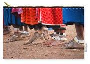 Maasai Feet Carry-all Pouch