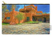 Mabel Dodge Luhan House As Oil Carry-all Pouch