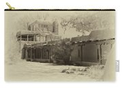 Mabel's Courtyard As Antique Print Carry-all Pouch