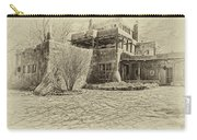 Mabel's House As Antique Print Carry-all Pouch