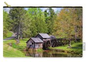 Mabry Mill In The Springtime On The Blue Ridge Parkway  Carry-all Pouch