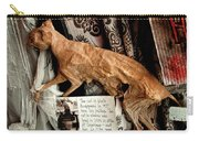 Macabre Mummified Cat - Halloween Carry-all Pouch