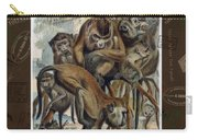 Macaques For Responsible Travel Carry-all Pouch