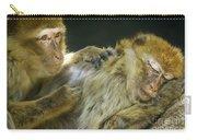 Macaques Jerez De La Frontera Spain Carry-all Pouch