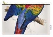 Macaw By_edward_lear Carry-all Pouch