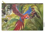 Macaw Parrot 3 Carry-all Pouch