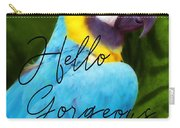 Macaw Quote Carry-all Pouch