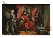 Macbeth Instructing The Murderers Employed To Kill Banquo Carry-all Pouch