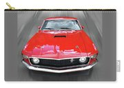 Mach1 Mustang 1969 Head On Carry-all Pouch