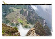 Machu Picchu And Fog Carry-all Pouch