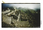 Machu Picchu In The Fog Carry-all Pouch