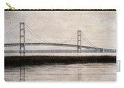 Mackinac Bridge Grunge Carry-all Pouch
