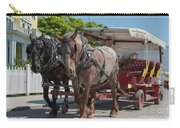 Mackinac Island Horse Carriage Carry-all Pouch