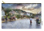 Mackinac Island Michigan Bikes And Horses Pa 01 Carry-all Pouch