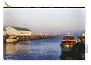 Mackinac Island Michigan Ferry Dock Carry-all Pouch