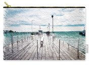 Mackinac Island Michigan Shuttle Pier Pa 02 Carry-all Pouch