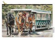 Mackinac Island Transportation - Surrey With The Fringe On Top Carry-all Pouch