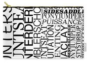 Maclay Word Art Carry-all Pouch
