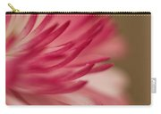 Macro - Pink Flower Carry-all Pouch