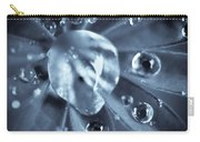 Macro - Water Drops Carry-all Pouch