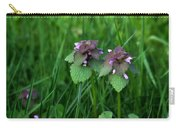 Macro Blooming Clover Carry-all Pouch