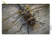 Macro Dragonfly Carry-all Pouch