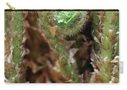 Macro Fern Sprout Carry-all Pouch